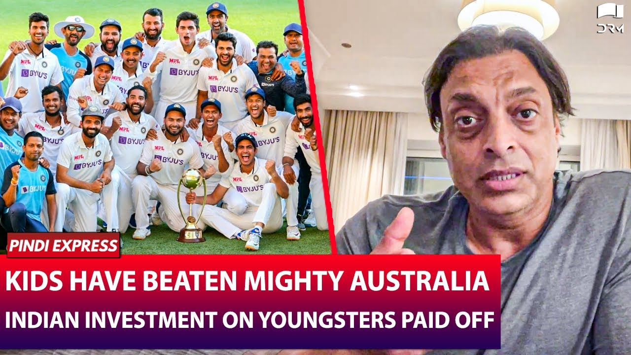 Indian Investment has Paid Off Big Time ! | IndiaVSAustralia 2021 | Shoaib Akhtar | SP1N - download from YouTube for free