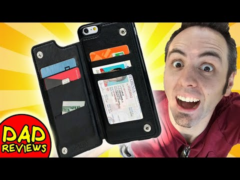 BEST IPHONE WALLET CASE | Gear Beast Dual Rear Folio Wallet Case
