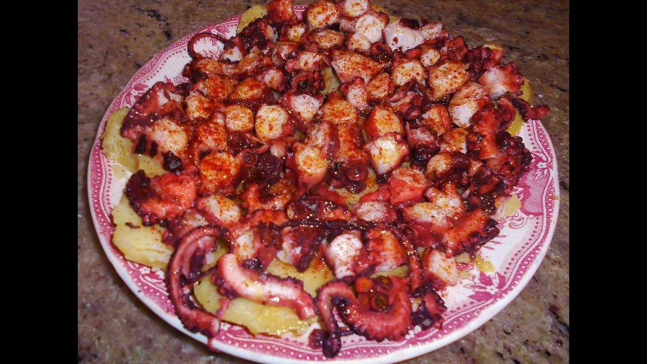 Pulpo a la gallega en 10 minutos octopus galician in 10 for Cocinar en 10 minutos