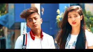 😢 Tu Pyaar Hai Kisi Aur Ka | | Full Video Song | Rahul Aryan | Cute School Couple Video | Earth