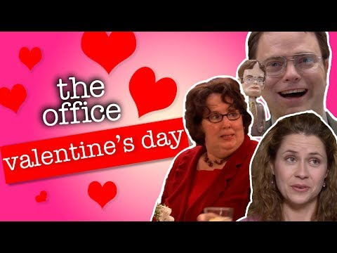 Valentines Day At Dunder Mifflin  - The Office US
