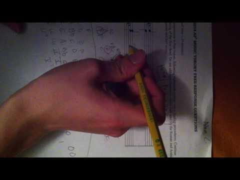 How to do the Roman Numeral AP Music Theory free response