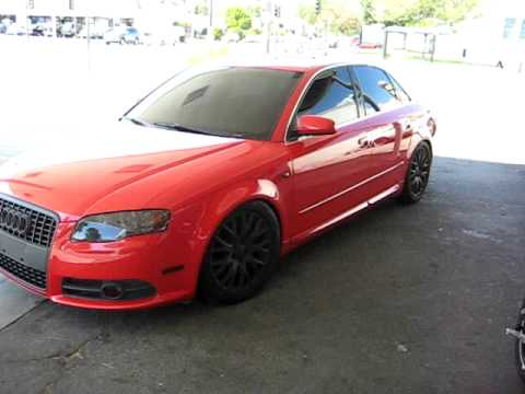 Red Audi A4 Youtube