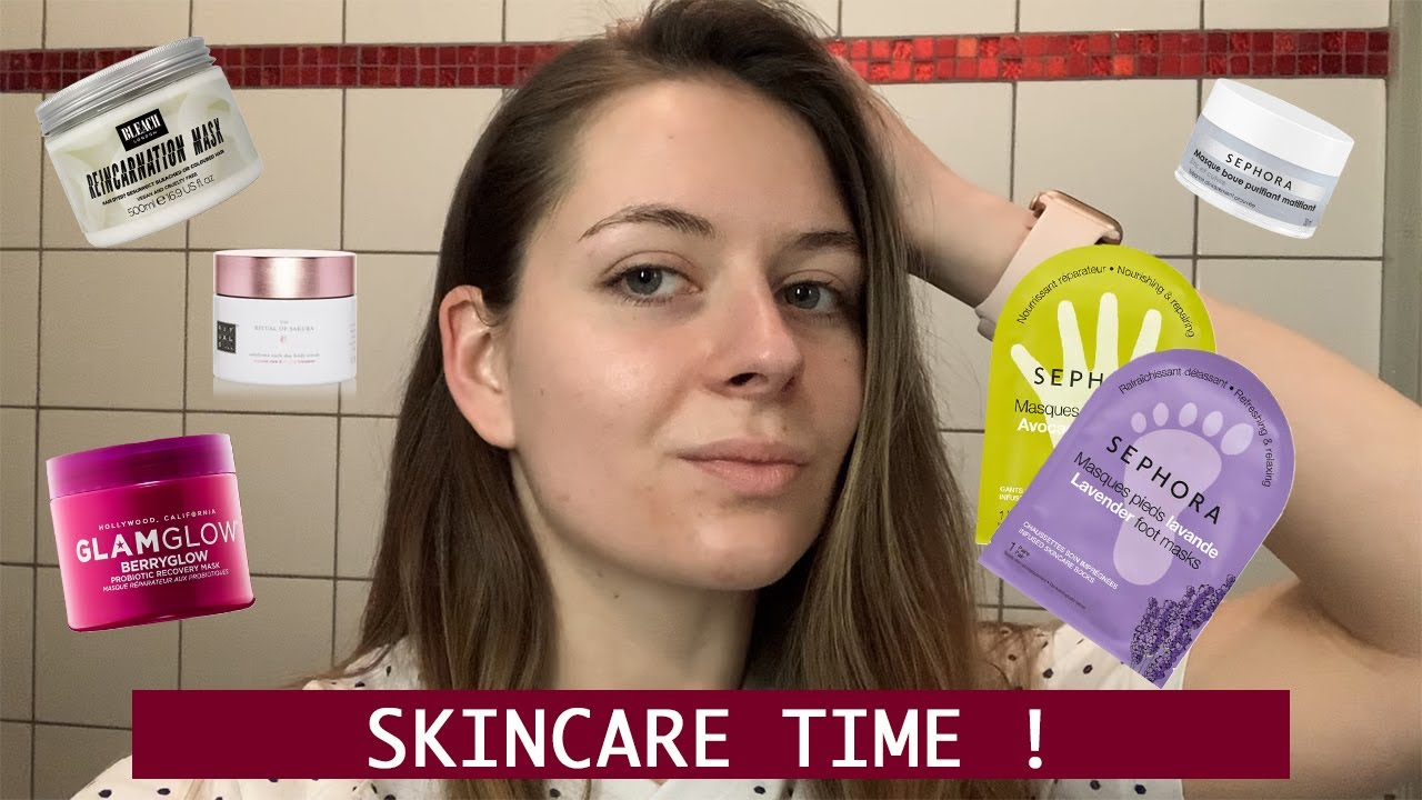@Chewyyne_: SKINCARE ROUTINE !