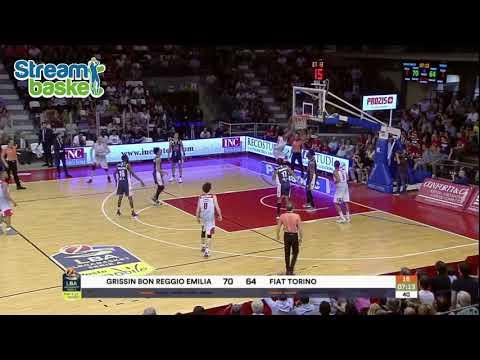 23.04.2018  Legabasket  REGGIO EMILIA - TORINO  89 - 82