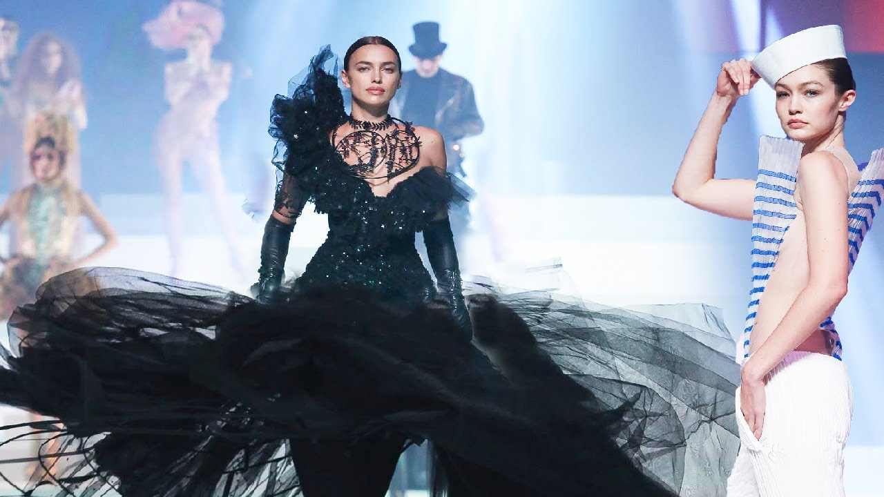 Jean Paul Gaultier Haute Couture Spring Summer 2020 50 Years Of Fashion Youtube