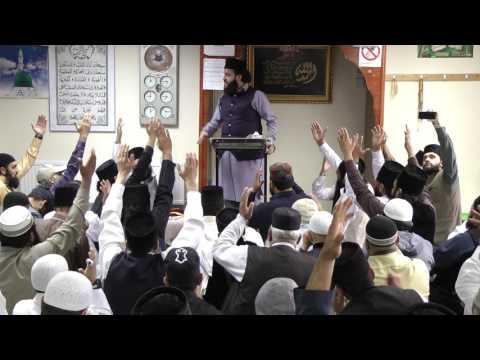Full HD Part 1 Eidgah Sharifuk 06/08/17 Birmingham Mosque Speech Peer M Hassan Haseeb-ur-Rehman Sb