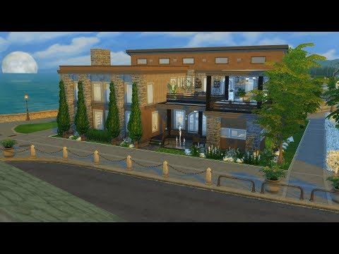 The Sims 4 Speed Build - Harbor Side Modern