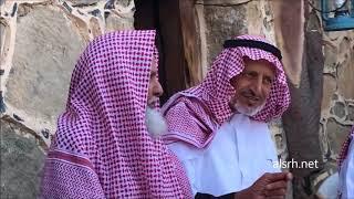 زيارة الشيخ محمد بن ناشع لقرية ال عليان التراثيه