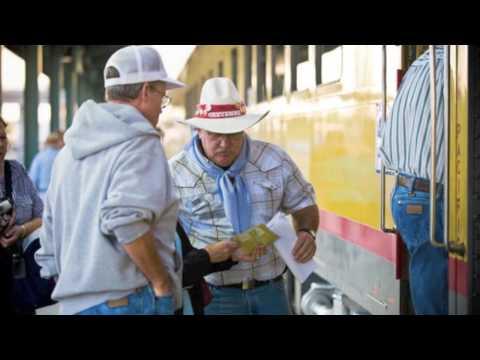 Denver Post Cheyenne Frontier Days Train