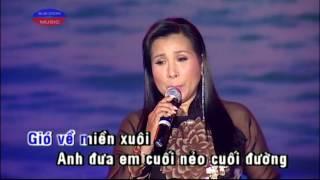 Karaoke Gio Ve Mien Xuoi - Phuong Mai (Beat & Vocal)