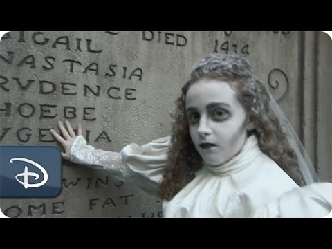 DIY Halloween: Haunted Mansion \'Ghost Bride\' Makeup Tutorial - YouTube