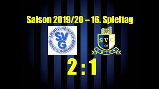 SVE-TV: SV Gonsenheim vs. Eintracht Trier - Highlights & Stimmen (16. Spieltag OL - 19/20)