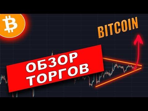 Криптовалюта Биткоин (BITCOIN) ПРОГНОЗ | Обзор наших торгов!