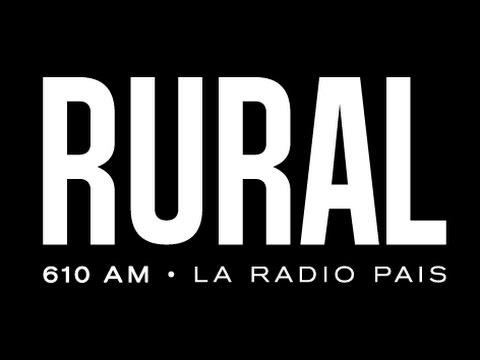 CX4 Radio Rural La Radio País, Uruguay AM 610 desde Mendoza (ARG) Sangean ATS 505