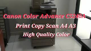 Canon Color Advance C5240A/C52…
