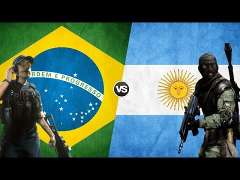 BRASIL VS ARGENTINA - Military Power Comparison 2017