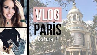 VLOG Paris Bölüm 1 ~ Vlog #2 ~ Alışveriş, Moda ve Paris Sokakları..