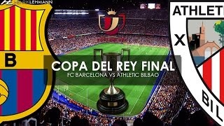 FC Barcelona vs Athletic Bilbao ● Copa del Rey Final Promo ● 2015