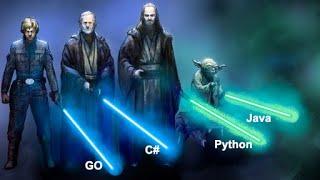 БАТТЛ технологий! Говорим о Java, Python, C# и Go