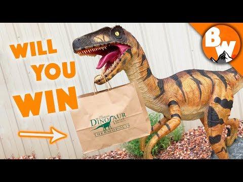 Win the Ultimate Dinosaur Treasure Bag!