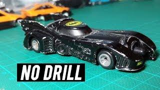 ERTL Batmobile, Repaint, No Drill (works on Hot Wheels) - Diecast Repairs | Episode 1