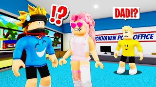 I Hired A BABYSITTER.. She Had A CRUSH On Me in Roblox BROOKHAVEN RP!!