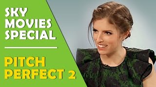 Anna Kendrick - Pitch Perfect 2 Sky Movies Special With Rebel Wilson & Elizabeth Banks