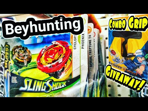 BEYHUNTING! Beyblade Burst Toy Hunt At Target For Wave 6 SwitchStrike - Combo Grip Review & Giveaway