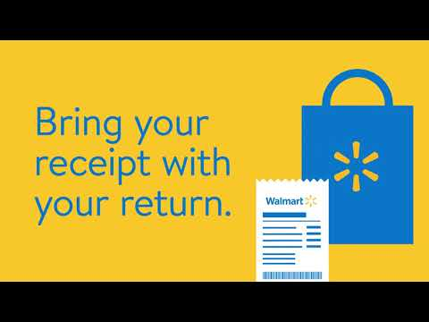 Official Walmart Returns Policy