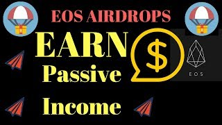 EOS Earn Passive Income ChinTai EOS Leasing Platform, EOS Airdrop Crypto Peso Airdrop, HireVibes