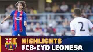 [HIGHLIGHTS] FUTBOL (2aB): FC Barcelona B – Cultural Leonesa (0-2)