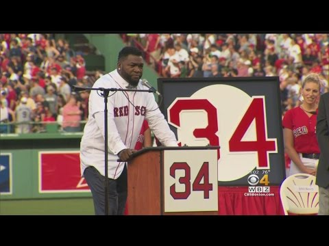 David Ortiz Thanks Family, Teammates And Fans