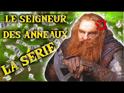 GIMLI N'APPROUVE PAS la série TV Le Seigneur des Anneaux