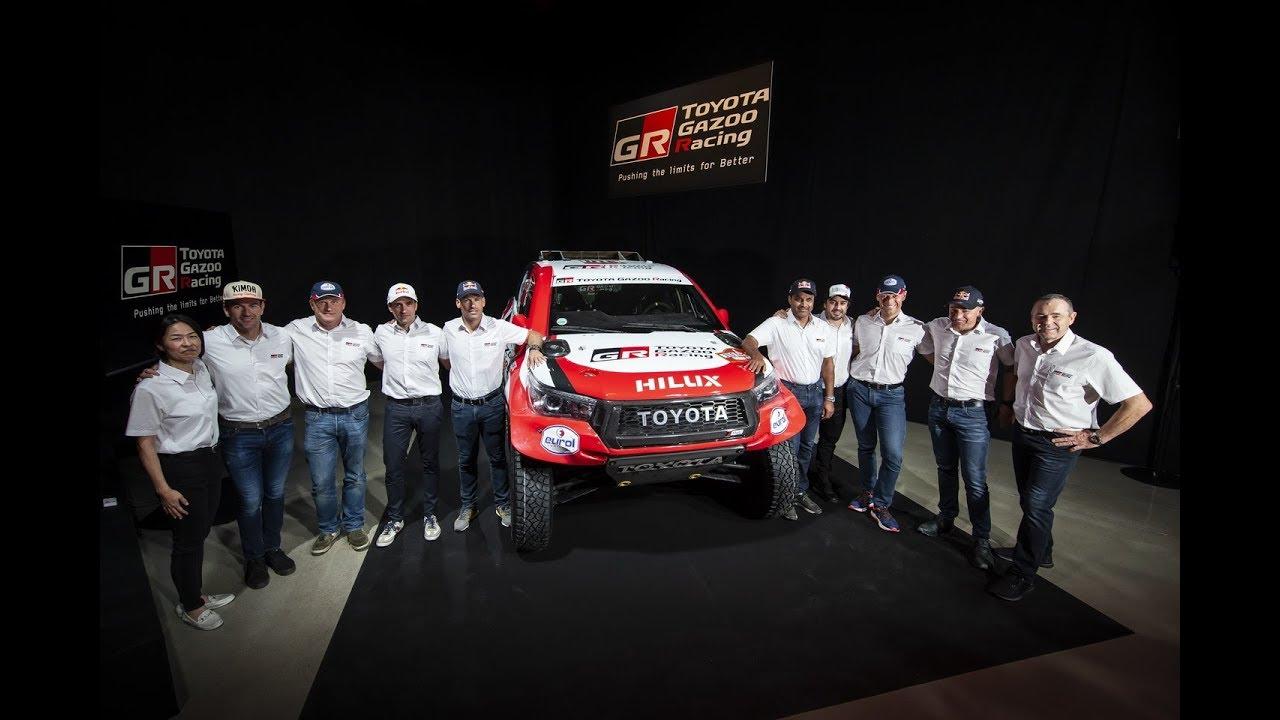 Toyota Gazoo Racing Announces 2020 Dakar Rally Team Press Conference
