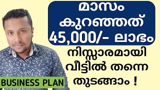 45,000 Monthly Profit From Small Scale Business | Idea | ചെറുകിട കച്ചവടം