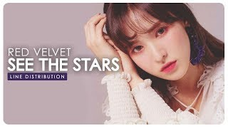 Red Velvet • See the stars (어떤 별보다) | Line Distribution