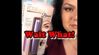 Flawless Brows as Seen On Tv Review & Demonstration