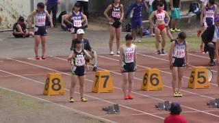 20170416春季記録会(桐生会場)女子100m5組