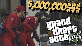 PLJAČKA VRIJEDNA 5000000 DOLARA!!!- Grand Theft Auto 5 (epizoda 6.)
