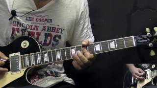 Ozzy Osbourne - I Don't Know - Metal Rhythm Guitar Lesson (w/Tabs)
