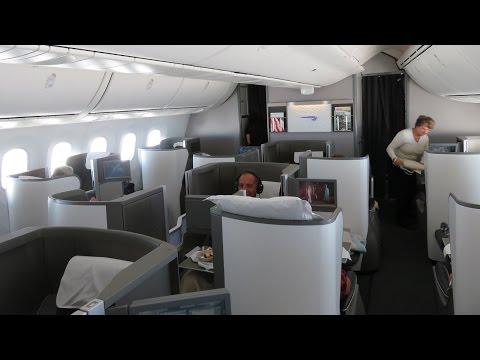 British Airways B787-8 Dreamliner business class Calgary to London (SPECTACULAR London views)