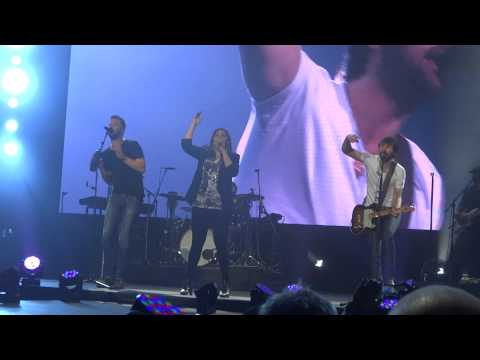 Lady Antebellum -Downtown Live Sydney Qantas Credit Union Arena 15/03/15