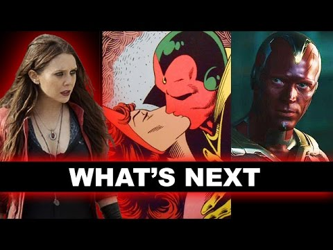Avengers 2 Vision & Scarlet Witch, What's Next for Civil War & Dr Strange 2016? - Beyond The Trailer