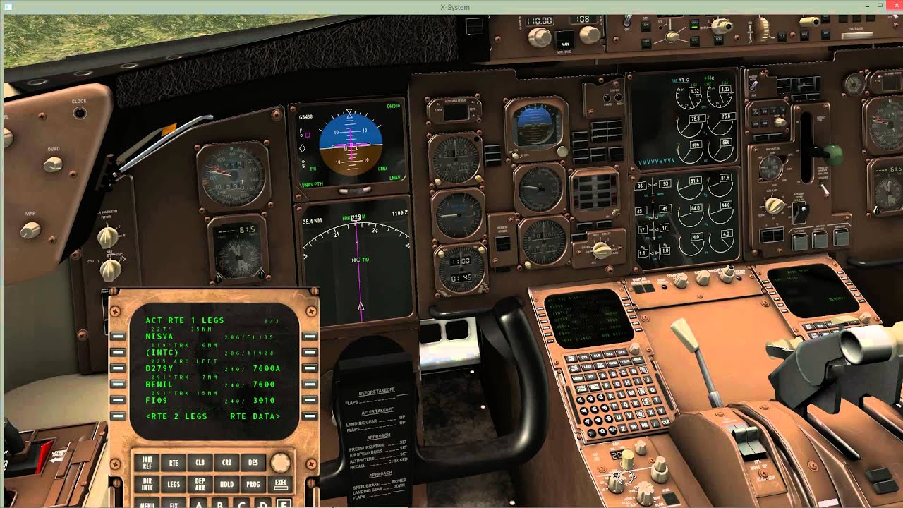 X Plane 10 Boeing 757 Prof Lrop To Lbsf Cold Amp Dark Full