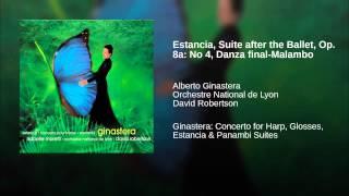 Estancia, Suite after the Ballet, Op. 8a: No 4, Danza final-Malambo