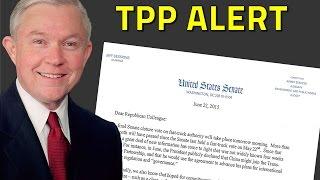ALERT: Senator Jeff Sessions Issues Dire Warning on TPP Free HD Video