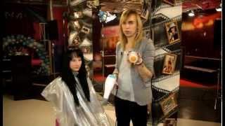 Anton_Mukhin_Stylist  Рваная стрижка на длинные волосы + MakeUp(, 2014-05-27T21:34:18.000Z)