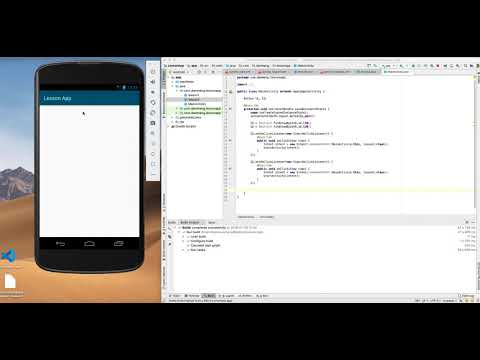 How To Make Lesson Book App With Html File In Android Studio