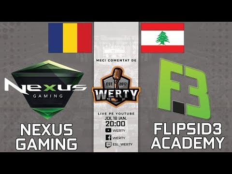 (RO CS:GO) NEXUS GAMING (RO) vs. FLIPSID3 ACADEMY (LBN) - LIGA CEVO CS:GO